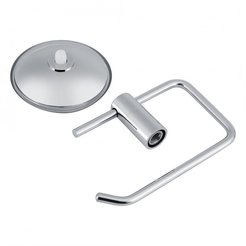 Harga preferensial Stainless Steel Kamar Mandi Toilet Suction Cup Paper Roll Holder Bar Wall-Mounted Rak-Internasional beli sekarang - Hanya Rp69.460