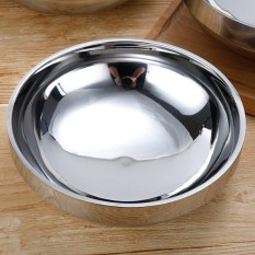 Stainless Steel Bowl For Noodle Udon Ramen Rice Double Insulated Dish Size:19cm - intl