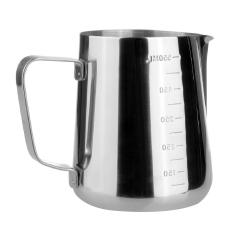 Baja Tahan Karat Kopi Espresso Di Dapur Rumah Kerajinan Kendi Latte Kopi Susu Kopi Teh Bantu Buih