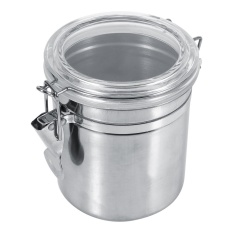 Daftar Harga Stainless Steel Kitchen Food Storage Container Bottle Sugar Tea Coffee Beans Canister M Intl Oem