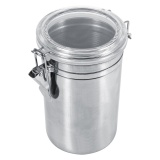 Tips Beli Stainless Steel Kitchen Food Storage Container Bottle Sugar Tea Coffee Beans Canister Xl Intl Yang Bagus