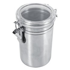 Harga Stainless Steel Kitchen Food Storage Container Bottle Sugar Tea Coffee Beans Canister Xl Intl Online Tiongkok