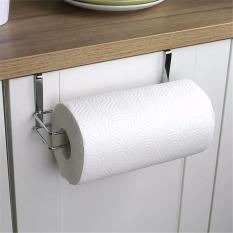 Besi Dapur Tisu Pemegang Menggantung Handuk Kertas Holder Tissue Hanger Organizer Kamar Mandi Toilet Roll Handuk Rak Kabinet
