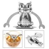 Harga Stainless Steel Loose Tea Leaf Infuser Ball Strainer Filterherbal Spice Frog Intl Yg Bagus