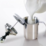 Spesifikasi Stainless Steel Manual Susu Frother Double Mesh Coffee Foamer Creamer 800 Ml Intl Lengkap Dengan Harga