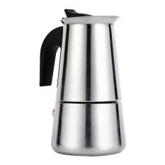 Jual Moka Pot Stainless Steel Cerek Penapis Kopi Espresso Pembuat Kompor Di Rumah Digunakan Di Kantor 100 Ml International Oem Original