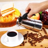 Tips Beli Stainless Steel Pot Perkolator Pembuat Kopi Kompor 100 Ml Intl