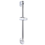 Promo Stainless Steel Shower Kit Adjustable Riser Slide Rail Bar Kit Selang Bracket