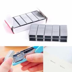 Stainless Steel Stapler Staples Pin Logam Binding Machine Kantor Sekolah Aksesoris-Intl