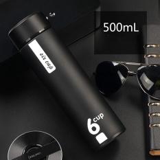 Promo Stainless Steel Termos Mug Modern Isolasi Vacuum Thermos Flask 500 Ml Hitam Intl Murah