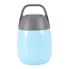 Jual Stainless Steel Vacuum Thermal Kotak Makan Makanan Terisolasi Jar Flask Wadah Sup Dengan Tas Biru Intl Antik
