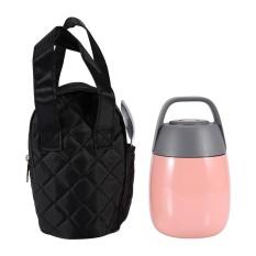 Daftar Harga Stainless Steel Vacuum Thermal Kotak Makan Makanan Terisolasi Jar Flask Wadah Sup Dengan Tas Pink Intl Oem