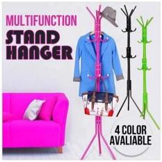 Stand Hanger Gantungan Tiang Berdiri Hanger Gantungan Baju Tas Random Terbaru
