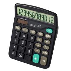 Standar Fungsi 12 Digit Dual Genggam Bertenaga Kalkulator untuk Rumah Kantor Sekolah Bisnis Desktop Kalkulator-Intl