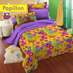 Toko Star Sprei Papillon Kuning 180X200 Lengkap Di Indonesia