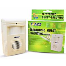 StarHome Bel Pintu Wireless Sensor Gerak - DoorBell - Bel Pintu Tanpa Kabel dengan Banyak Pilihan Suara