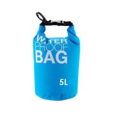Harga Starhome Drybag Korean Waterproof Dry Bag 5 Liter Biru Yang Murah Dan Bagus