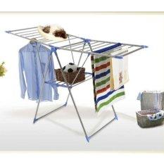 StarHome Jemuran Baju - Rak Pakaian Lipat - Drying Rack Gantungan Baju Simple