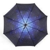 Starry Sky Sunscreen Automatic Folding Compact Umbrella Di Tiongkok