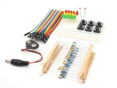 Harga Starter Kit For Arduino Resistor Led Katunitor Jumper Kabel Papan Memotong Roti Resistor Kit