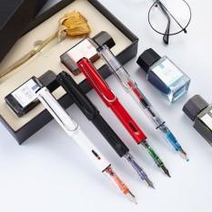 Alat Tulis Air Mancur-Pulpen Setelan Gadis Itu Artinya Kata Iridium Emas Pulpen Dewasa Do Word Kaligrafi Air Mancur- pulpen Paket Siswa dengan Hadiah Kotak Tinta-Internasional