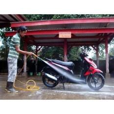 Steam Alat Mesin Cuci Motor Mobil Kendaraan AC Pompa Air - FREE ADAPTOR- GRATIS ADAPTOR