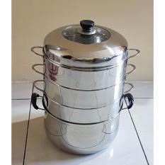 Harga Steam Cooker Panci Steam 28Cm Mawar88Shop Yang Murah Dan Bagus