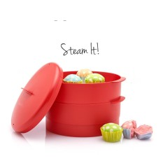 Harga Tupperware Steam It 2 Susun Kukusan Steamer Terbaru