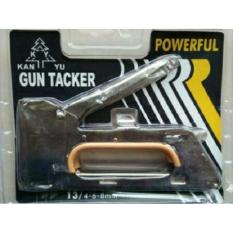 Steples Gun Tembak Jok Kulit Motor / Stepler Gun Tacker 4 -6-8mm