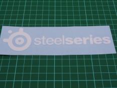 Sticker / Stiker Cutting Logo Steelseries
