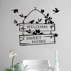 Sticker Wallpaper Dinding Welcome Sweet Home