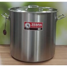 Stock Pot Zebra 32cm X 32cm - Panci Stainless 304 - No 171032