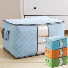 Storage Bag Storage Box Tidur - Tas Tempat Penyimpanan Pakaian Selimut Bed Cover Tempat Menyimpan Selimut Tempat Serbaguna - Random