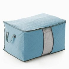 Storages and Organizers Bag Clothes and Blankets Organizer Tidur - Biru