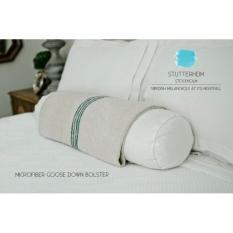 Beli Stutterheim Guling Tidur Hotel Microfiber Bulu Angsa Bolster Goose Down Made In Sweden Cicilan