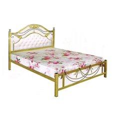 Success Furniture Ranjang Tidur Besi New Grand - 160x200cm - Gold Antique