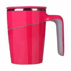 Beli Suction Mug Spill Free Mug Tahan Panas Dan Anti Tumpah Merah Online