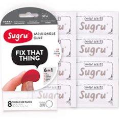 Sugru Silicone Self Setting Rubber Glue Set Of 8 Pcs Per Pack White Di Bali