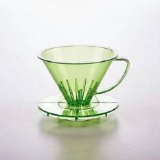 SUJI Pourover Dripper 01 Green-Coffee Kopi Plastic V60 Alat Seduh