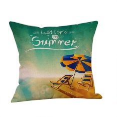 Toko Summer Beach Style Pillow Case Sofa Bed Home Car Decoration Cushion Cover Intl Goldenfashionie Tiongkok