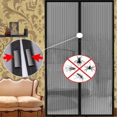 Review Summer Magnets Mosquito Fly Net Curtain Door Mesh Insect Curtain Door Intl Terbaru