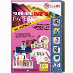 Sun Kertas Sublime Max Paper A4 110 Gsm Sun Diskon 50