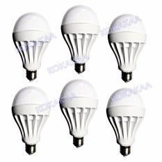 Spesifikasi Sunfree Bohlam Led Bulb Cool White 9 Watt Bundle 6 Pcs Dan Harganya