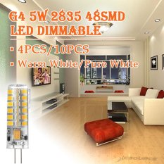 Jual Sunix 4Pcs High Power G4 5W 48 Smd 2835 Led Silicone Spotlight Bulb Lamp Warm White Dimmable Su023 Online