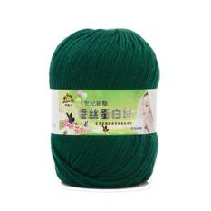 Sunshop 50g Baru Soft Natural Halus Bayi Anak-anak Cashmere Silk Wol Tangan Knitting Crochet