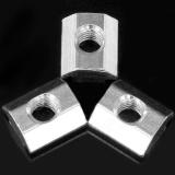 Jual Sunshop 50 Pcs M5 T Sliding Nut Zin Baja Karbon Berlapis T Sliding Nut Papan 2020 Aluminium Profil Termurah