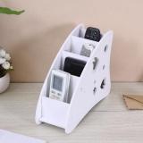Spesifikasi Sunshop Kayu Papan Plastik Pen Phone Tv Remote Control Holder Meja Diy Multifungsi Kotak Penyimpanan Intl Yang Bagus Dan Murah