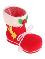 Sunwonder Sepatu Bot Permen Kumpulan Kaos Kaki Hadiah Natal Pohon Natal Tas Dekorasi Ruangan Anak-anak Santa Baru (Netral)-Intl