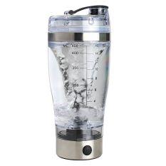 Sunyoo-praktis Smart Silver Pencampur Kopi Cangkir Pencampur Pengocok Mikser Vorteks Botol Otomatis