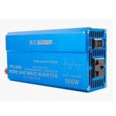 SUOER Power Inverter PURE SINE WAVE 500w 500 Watt USB Input 12v Pompa Jet Pump Kipas Angin Komputer Laptop Televisi Kulkas